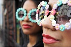 sunglasses by sas couture Diy Gifts, Couture, Sunglasses, Pretty, Stuff To Buy, Pastels, Accessories, Jewelry, Challenge