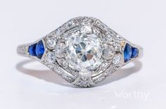 2.0 CT Round Cut Solitaire Ring Sold at Auction for $3,150