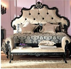 I just love this bed and color