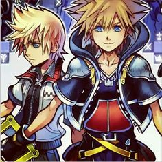 Roxas and Sora | Kingdom Hearts 2.5 HD Remix Cover