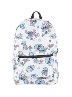 e7387aa8001 Canvas backpack from Disney s Lilo   Stitch with an allover Stitch