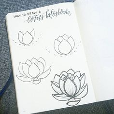 I'm on vacation for the long weekend and so am posting a quick tutorial on how to draw a lotus blossom!  Start simple, from the center,  with pointed petals and start building out.  Keep going for a mature blossom or keep it compact for a  younger bud ☺ have a fantastic weekend!  .  .  .  Be sure to check out this week's tutorialsl by @inkbyjeng who will be joining me each week!