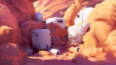 Mars Pop playground, Sylvain Sarrailh on ArtStation at https://www.artstation.com/artwork/Y8QY6