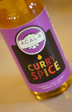 Curry Spice Infused Cottonseed Oil by Acala Farms on Gourmly