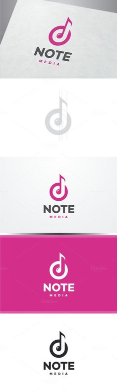 Music Note Logo. Keynote Templates. $30.00
