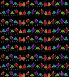 'Disco Chicks' Sleeveless Top by imagology Fun Stuff, Fabric, Prints, Top, Fun Things, Tejido, Tela, Cloths, Fabrics