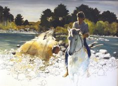 'Boy on a Horse' - Peter McIntyre