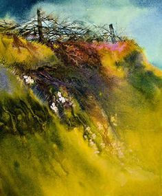 Step by Step: Alcohol Ink and Glazing Medium on Yupo Paper | Louise Lamirande