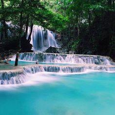 Matajitu waterfall, Moyo Island, NTB, Indonesia.