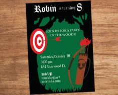 Bow and Arrow Robin Hood Forest Party by SBVintageAndDesign, $12.00