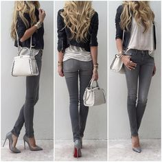 Swans Style is the top online fashion store for women. Shop sexy club dresses, jeans, shoes, bodysuits, skirts and more. Mode Outfits, Fashion Outfits, Womens Fashion, Fashion Trends, Look Office, Mode Jeans, Business Casual Outfits, Street Style Women, Spring Outfits