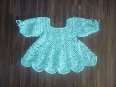 gehaakt jurkje turquoise met lange mouw: http://link.marktplaats.nl/m919615916