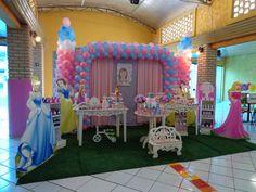 Momento Mágico Decorações : Princesas Provençal Azul e rosa
