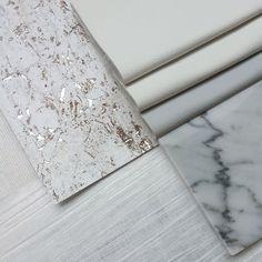 White is the new black! Marble, metallic and leather mix | White on White | Interior Design