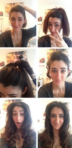 Can You Get Curly Hair With Just A Ponytail?