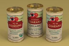 Embalagem pra pó de guaraná