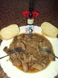 LAS RECETAS DE MAMY SONIA: RIÑONES AL JEREZ Pot Roast, Rica Rica, Ethnic Recipes, Food, One Pot Dinners, Cook, Lamb, Beautiful Things, Exercise