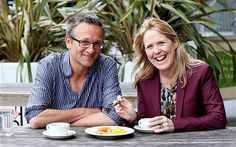 Michael Mosley and Victoria Lambert chew the fat: the BBC 'Horizon' presenter's diet not only helped him lose weight, but his blood sugar and fat percentage fell to healthy levels, too