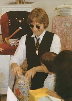 John, Sean, and Yoko