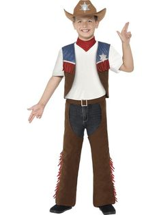 Cowboy Texan Kids Costume. Cowboys costumes, American theme costumes, cow boy costumes. Next day delivery from Sydney Australia