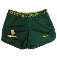 Nike® 'Sic 'Em Bears BU Baylor' Women's Mesh Shorts