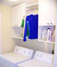 Cape Cod Laundry Room Closets - Laundry Organizer Storage Solutions   Expert Closets