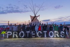 The Standing Sioux's pipeline protest is part of a long history of indigenous-led environmental protests.