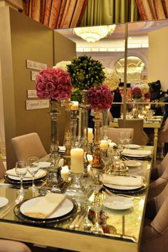 Nayyara Riyadh, Table Settings, Luxury, American, Table Top Decorations, Place Settings, Tablescapes, Desk Layout