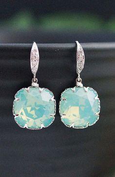 Bridesmaids Gift Wedding Bridal Earrings