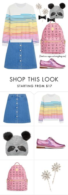 """""""Feb 14th (tfp)"""" by boxthoughts ❤ liked on Polyvore featuring STELLA McCARTNEY, Mary Katrantzou, Accessorize, Irregular Choice, MCM, Jennifer Behr, Marc by Marc Jacobs, women's clothing, women and female"""