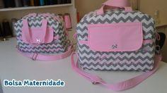 a160b383c Bolsa Maternidade Personalizada Para Bebê - Heloisa - Ateliê Doce Menina  Artesanatos