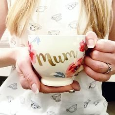 Its a mum's best friend and it's certainly mine! Anyone who knows me knows I love my tea - it has to be PG Tips and in one of my 1 million mugs! How cute is the newest addition to my collection! Happy Mothers day to all the mummys!