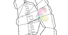 DreamyPosy.com -3d half heart free template.pdf