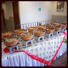 buffete para boda mexicana