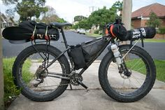 Fat bike Touring #fatbike #bicycle