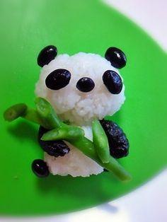 Onigiri Rice Ball Panda by dekoben
