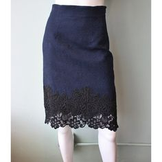 Rebecca Taylor Matelasse Pencil Skirt #rebeccataylor