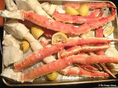 great way to cook King Crab legs!  so easy in the oven