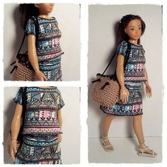 Lammily Doll Outfit / Shirt Skirt Set / Doll by LammilyOutfits