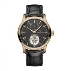 See the Vacheron Constantin Traditionnelle tourbillon watch - Movement : Manual-winding mechanical - Case : Rose gold Vacheron Constantin, Pink And Gold, Rose Gold, Tourbillon Watch, Custom Design Shoes, Custom Boots, Leather Accessories, New Model, Cool Watches