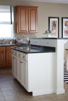How to Paint Kitchen Cabinets or your island cabinets and make it last! via Life On Virginia Street