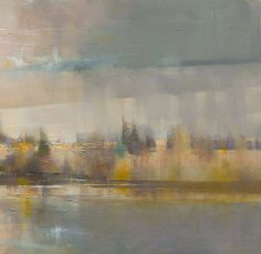 Golden River ll by Oscar Goodall (Scottish)