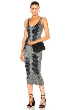 b1694651582 ENZA COSTA Rib Tank Midi Dress.  enzacosta  cloth   Enza Costa