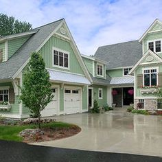 Best House Colours On Pinterest Grey Houses White Trim And 400 x 300