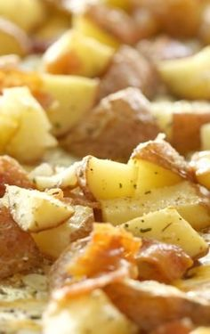 """This Cheesy Hashbrown Potato Casserole (or """"Funeral Potatoes"""") is full of melted cheese and is so creamy. Perfect for a holiday dinner or a party. Cheesy Potatoes With Hashbrowns, Cheesy Potato Casserole, Funeral Potatoes Recipe, Easy Freezer Meals, Breakfast Potatoes, Holiday Dinner, Pressure Cooking, Breakfast Recipes, Favorite Recipes"""