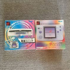 Neo Geo Pocket Color Clear And Wireless Communication Unit SNK PLAYMORE  110.00End Date: Wednesday Sep-7-2016 0:32:25 BSTBuy It Now for only: 110.00Buy It Now | Add to watch list