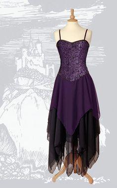 418 - Gothic Faery Dress