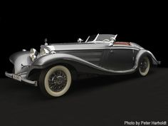 Baroness Gisela von Krieger's fabulous Art Deco Mercedes, now up for auction at Christies.
