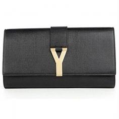 Yves Saint Laurent/ Chyc mini tweed clutch