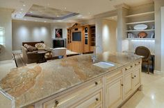 Spacious Kitchen & Dining Room